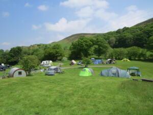 Gypsy pod and campsite