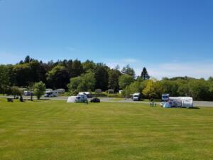 Grass and Hardstanding pitches available with electric hook up